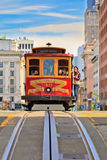 Funiculaire à San Francisco Photo stock