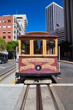 Funiculaire à San Francisco Photos libres de droits