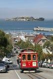Funiculaire à San Francisco, la Californie Photo libre de droits