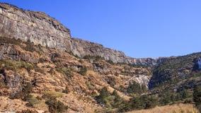 Funiculaire dans la gamme de haute montagne en Chine photo libre de droits