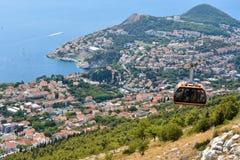Funiculaire de Dubrovnik photo libre de droits