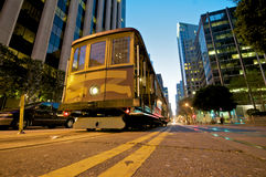 Funiculaire de San Francisco photo stock