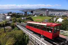 Funiculaire de Wellington photographie stock