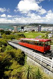 Funiculaire - Wellington, Nouvelle Zélande Photo stock