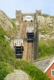 Funicular απότομων βράχων σε Hastings Αγγλία στοκ φωτογραφίες με δικαίωμα ελεύθερης χρήσης