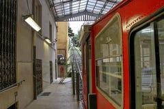 Funicular στη Γένοβα Στοκ εικόνα με δικαίωμα ελεύθερης χρήσης