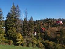 funicular στον ήλιο Στοκ Εικόνες