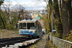 Funicular του Κίεβου Στοκ εικόνα με δικαίωμα ελεύθερης χρήσης