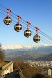 funicular royaltyfri fotografi