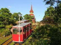 Funicular. Stock Photography