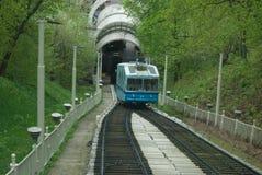 funicular Royaltyfri Foto