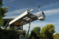Funicular of Barcelona Stock Photography