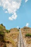 funicular berg royaltyfri bild