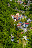 funicular berg royaltyfri fotografi