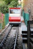 Funicular in Bergamo Royalty Free Stock Image