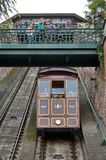 Funicular in Budapest Stock Photography