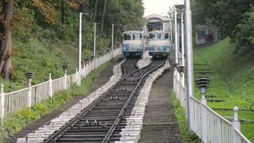 The Kiev funicular stock footage