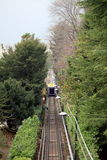 Funicular Como Lake, Lombardy Italy Royalty Free Stock Image