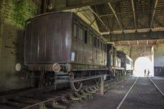 The Funicular de Paranapiacaba museum Royalty Free Stock Image