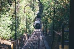 Funicular de Santiago Foto de archivo libre de regalías