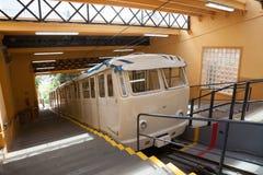 Funicular del Tibidabo在巴塞罗那 免版税图库摄影