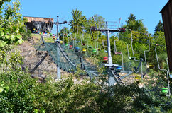 The funicular Royalty Free Stock Photo