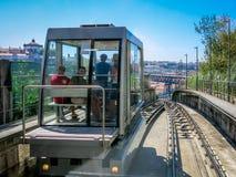 Funicular dos Guindais, Porto Stock Images