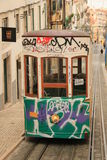 Funicular (Elevador) in Lisbon Royalty Free Stock Image
