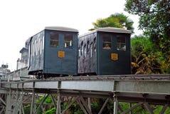 Funicular en Pau Imágenes de archivo libres de regalías