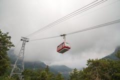 funicular góry Zdjęcia Stock