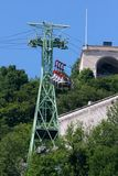 The funicular of Grenoble Stock Photography