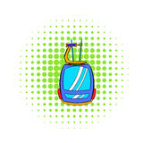 Funicular icon, comics style Stock Images