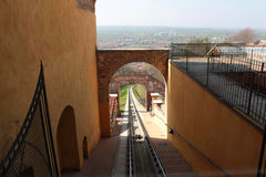 Funicular Royalty Free Stock Photo