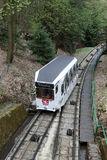 The funicular in Karlovy Vary Stock Image