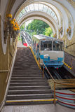 Funicular Kiev Royalty Free Stock Photo
