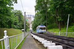 Funicular in Kyiv, Ukraine Stock Photography