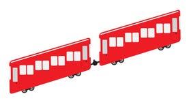 Funicular lub faleza kolei ikona Obraz Stock