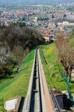 Funicular of Mondovì Royalty Free Stock Photo