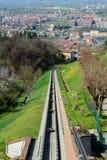 Funicular of Mondovì Royalty Free Stock Photo