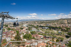 Funicular over the Tbilisi city. Georgia Stock Photos