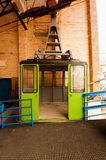 Funicular parking. Royalty Free Stock Images