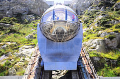 Funicular. Royalty Free Stock Photo