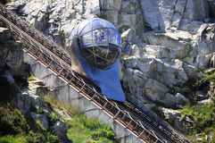 Funicular. Stock Images