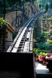 funicular penang järnväg royaltyfria foton