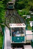 Funicular Praga zdjęcie stock