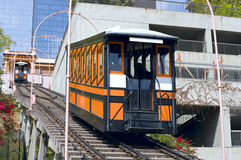 Funicular Railroad in Los Angeles Royalty Free Stock Images
