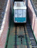 funicular railway  Royalty Free Stock Image