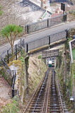 Funicular Railway and Bridges Royalty Free Stock Photo