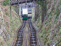 Funicular Railway Car Stock Photo