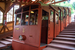 Funicular Railway In Heidelberg Royalty Free Stock Photography